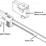 Manufacturing Material & Parts of a Vernier Caliper Assembly
