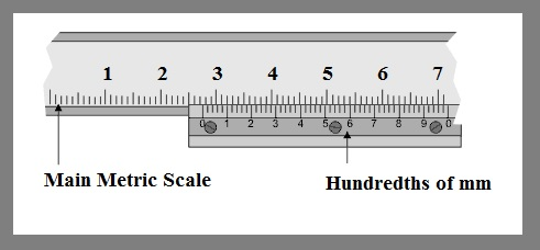 how to read the reading of vernier caliper