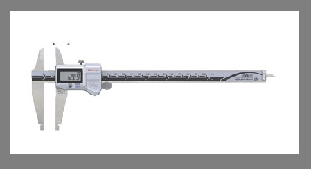 Digital Caliper With Nib Style Jaws