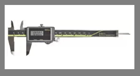 Solar Powered Digital Caliper