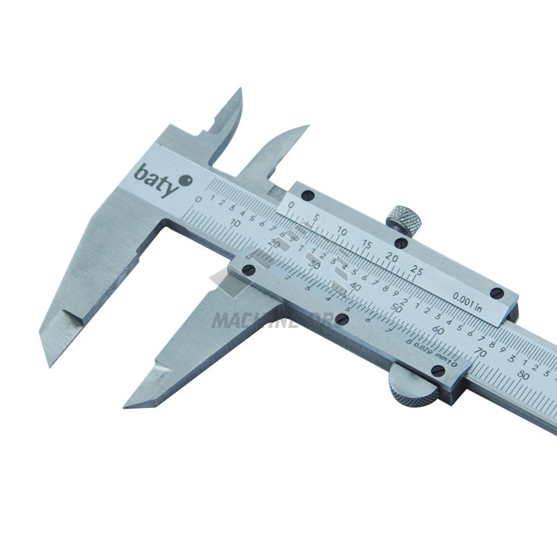how to read a vernier caliper examples