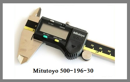 Mitutoyo 500-196-30 Digital Caliper Fairly Good But Poor Casing