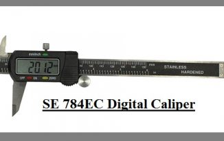 SE 784EC Digital Caliper Misaligned & Poor LEDs