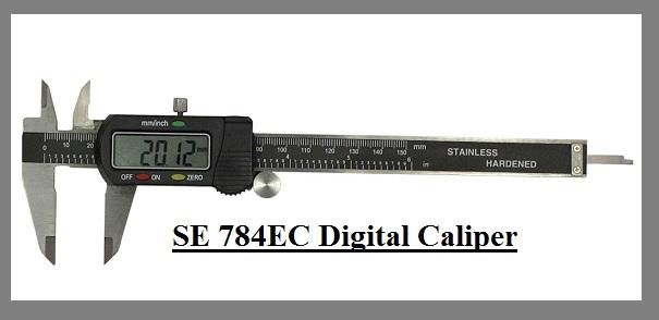 SE 784EC Digital Caliper Misaligned & Poor LEDs