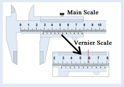 vernier-caliper main scale