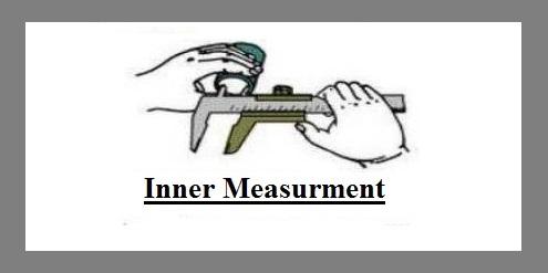inner measurement vernier caliper