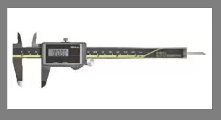 Solar Powered Digital Caliper