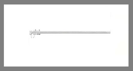 Starrett 123Z-72-inch vernier caliper