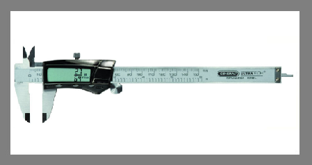 General Tools 6-Inches Digital Fractional Caliper Just Good for Show