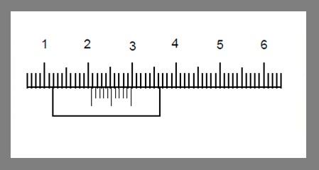 vernier caliper scale