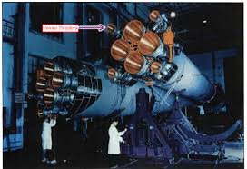Vernier Thruster Space Craft Rocket Engine