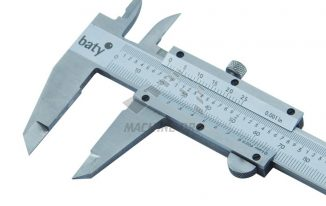 Vernier Caliper Use in Make Up Vernier Calipers