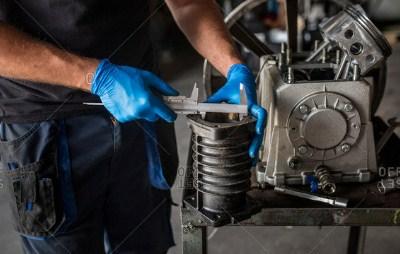 Vernier Caliper Used By Car Mechanics